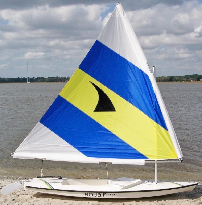 AquaFinn Daysailer Photo Demo Boat in Charleston, SC
