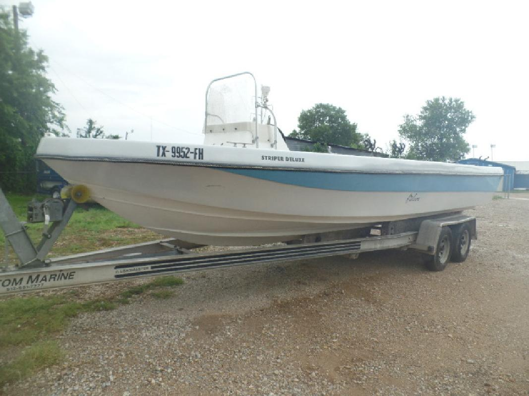 Striper new and used boats for sale in texas for Used fishing boats for sale in houston