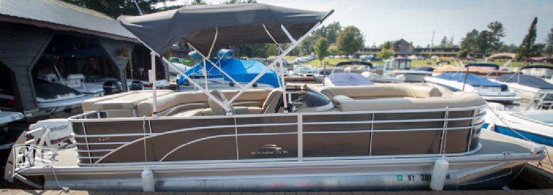 2017 Bennington 2375 GCW Pontoon Boat in Old Forge, NY