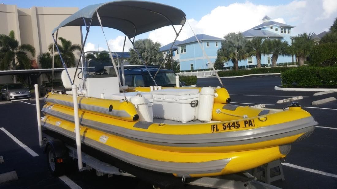 19 ft Patten Inflatable Dive Boat in Stuart, FL