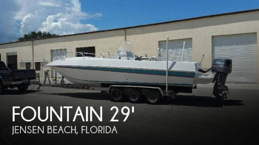 1987 Fountain Powerboats 88M Sport Boat Jensen Beach FL