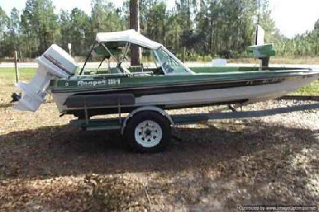 $3,995 2000 Bass Tracker Fishing Boat Ranger 335