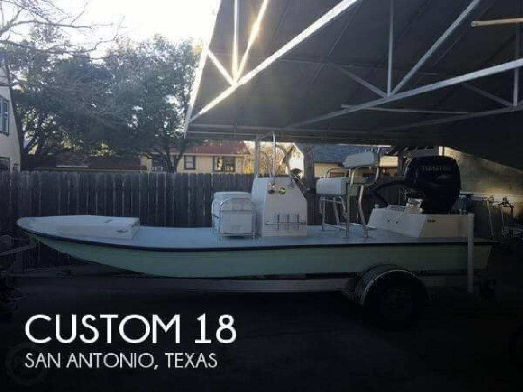 2015 Custom 18 Flats Boat San Antonio TX
