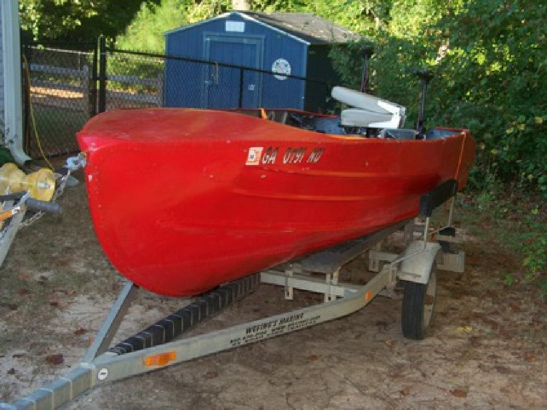 $2,000 1962 Feathercraft Hawk III boat w/ Trailer