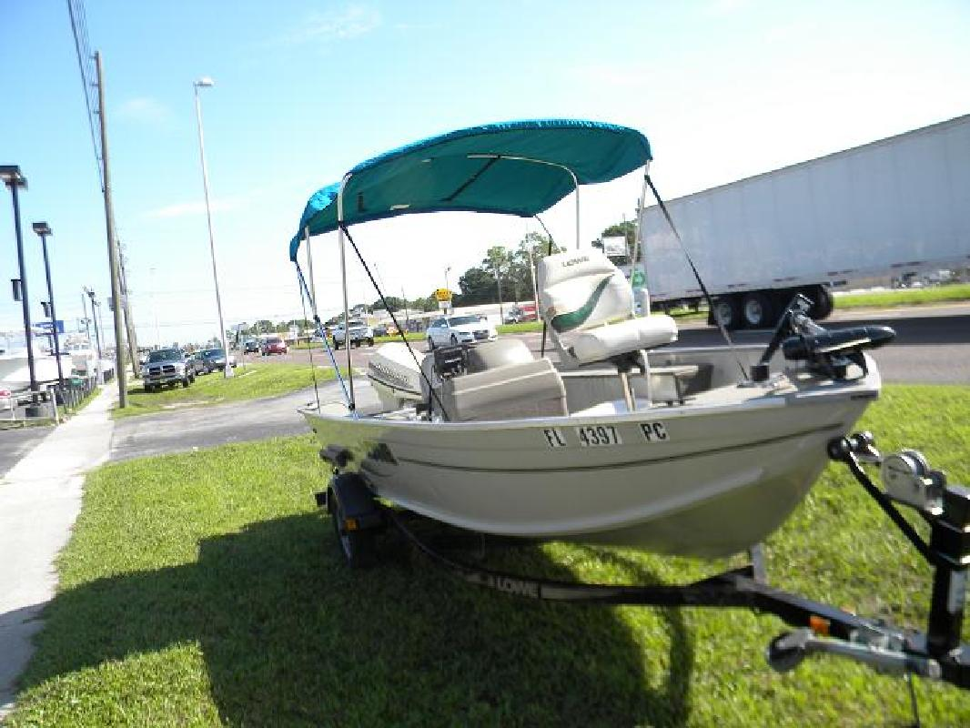 2001 16 Lowe Boats 1655 For Sale In New Port Richey