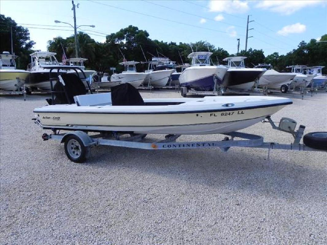 2001 17' Action Craft Boats 1720 Flyfisher