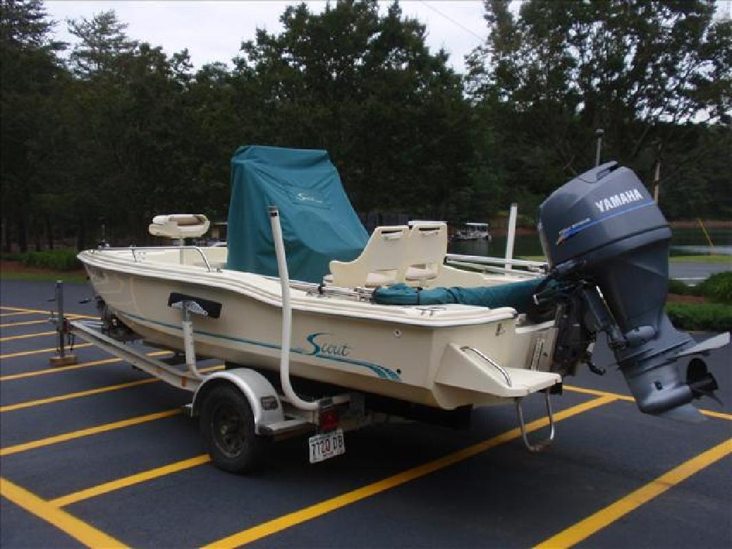 1999 17' Scout Boats 172 SPORTFISH in Cumming, Georgia