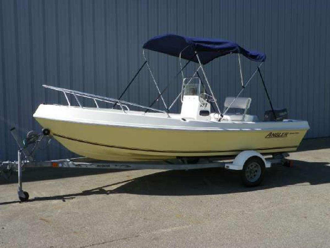 2006 17 Angler Boats 173f For Sale In Kalamazoo Michigan