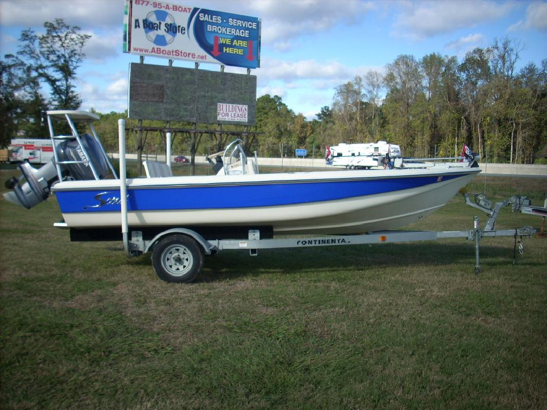 2001 18' Scout Boats 177 Sportfish
