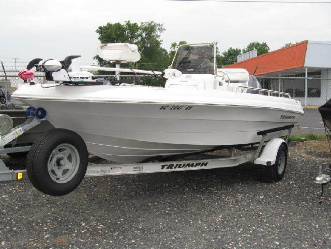 2007 19' triumph boats 190 bay for sale in pineville, north