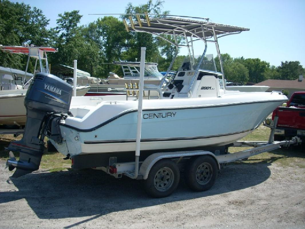 2007 20 39 century boats 2001 for sale in waverly georgia for Century motor date code