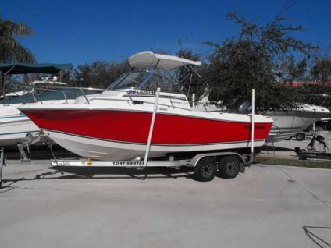$24,900 2008 Clearwater Fishing Boats 21 WALKAROUND
