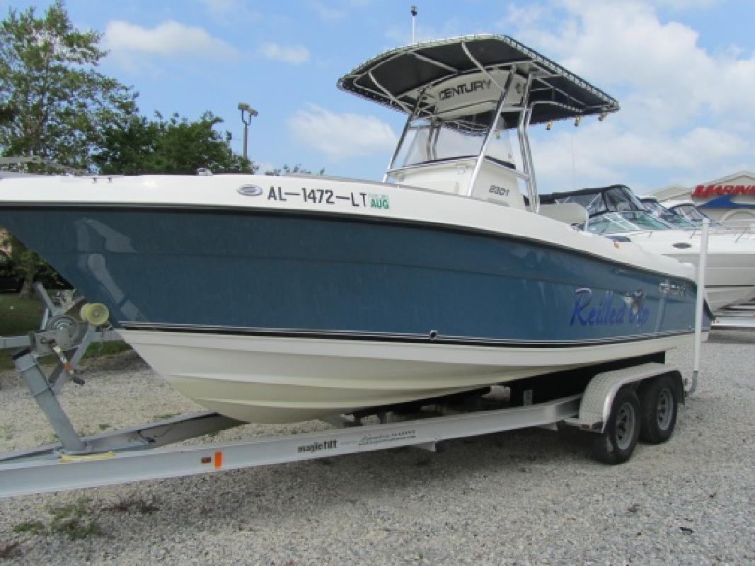 2008 23 39 century boats 2301 for sale in gulf shores for Century motor date code