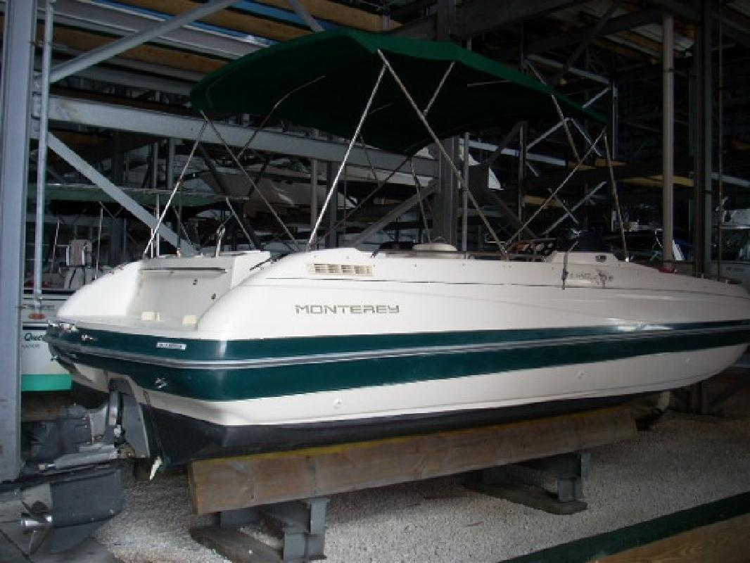 1995 23' Monterey Boats 230 Explorer for sale in Tampa, Florida | All Boat ...