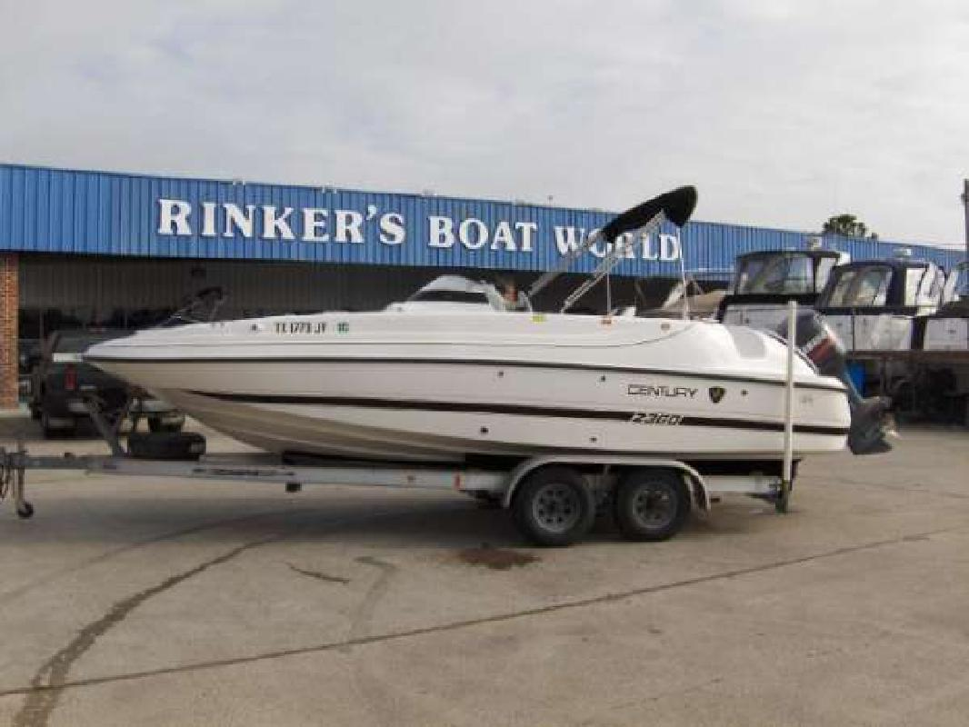 2003 23 39 century boats 2360 for sale in houston texas for Century motor date code