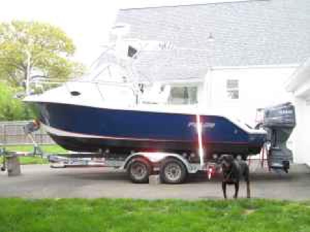 2005 23' Polar Boats 23 Walkaround