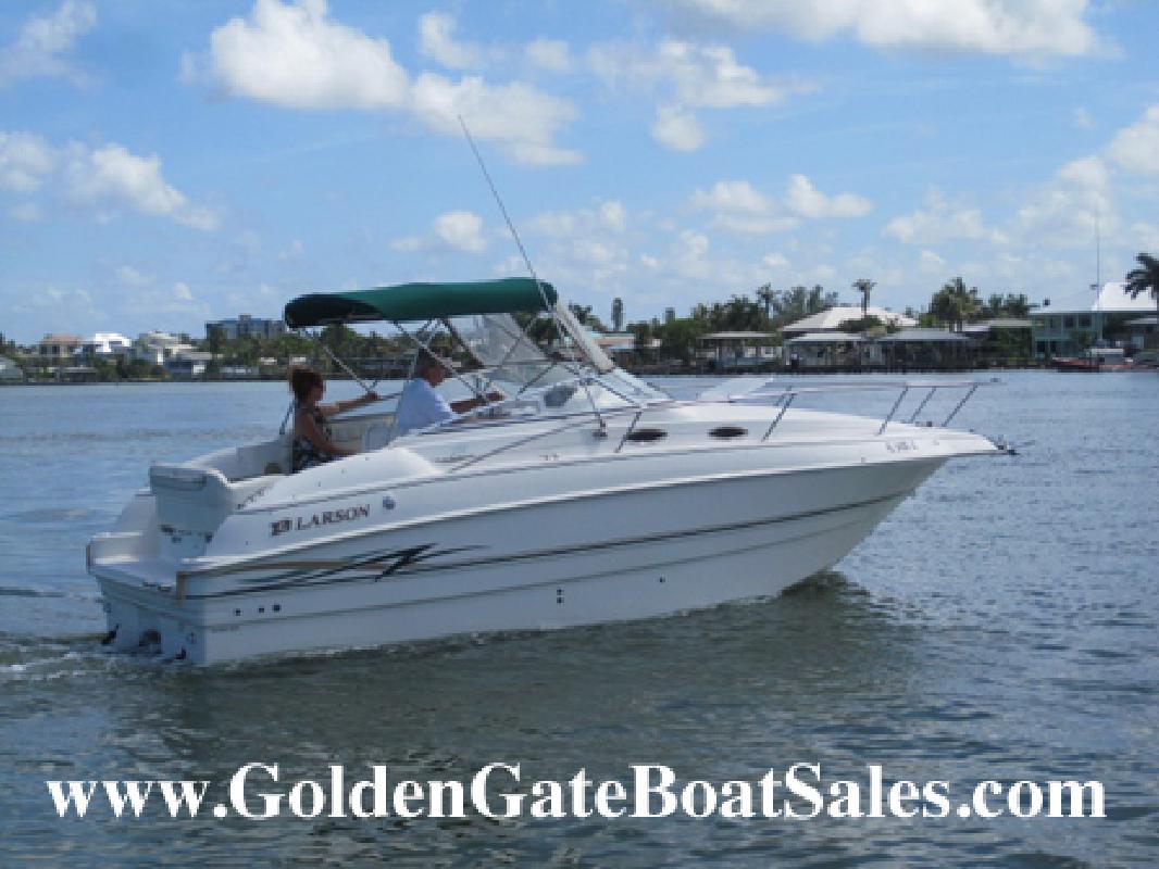 1999 25' larson boats 254 cabrio for sale in naples