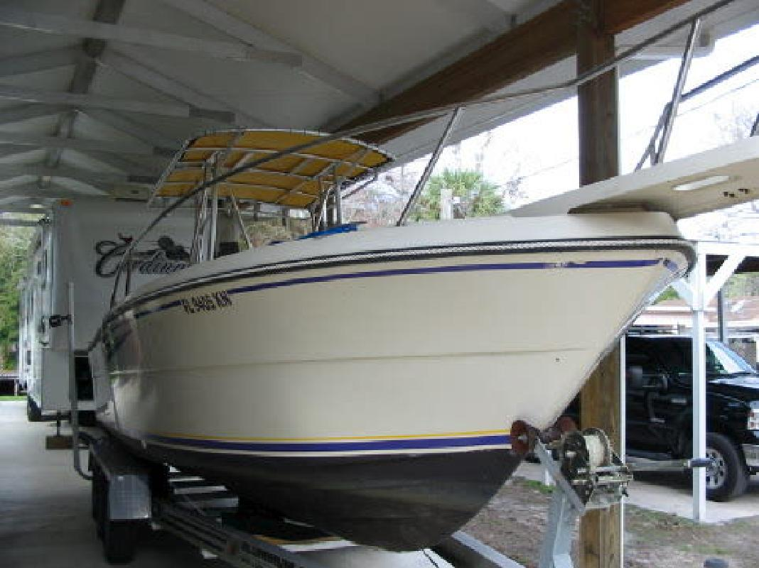 1986 25' Pursuit Boats 2550