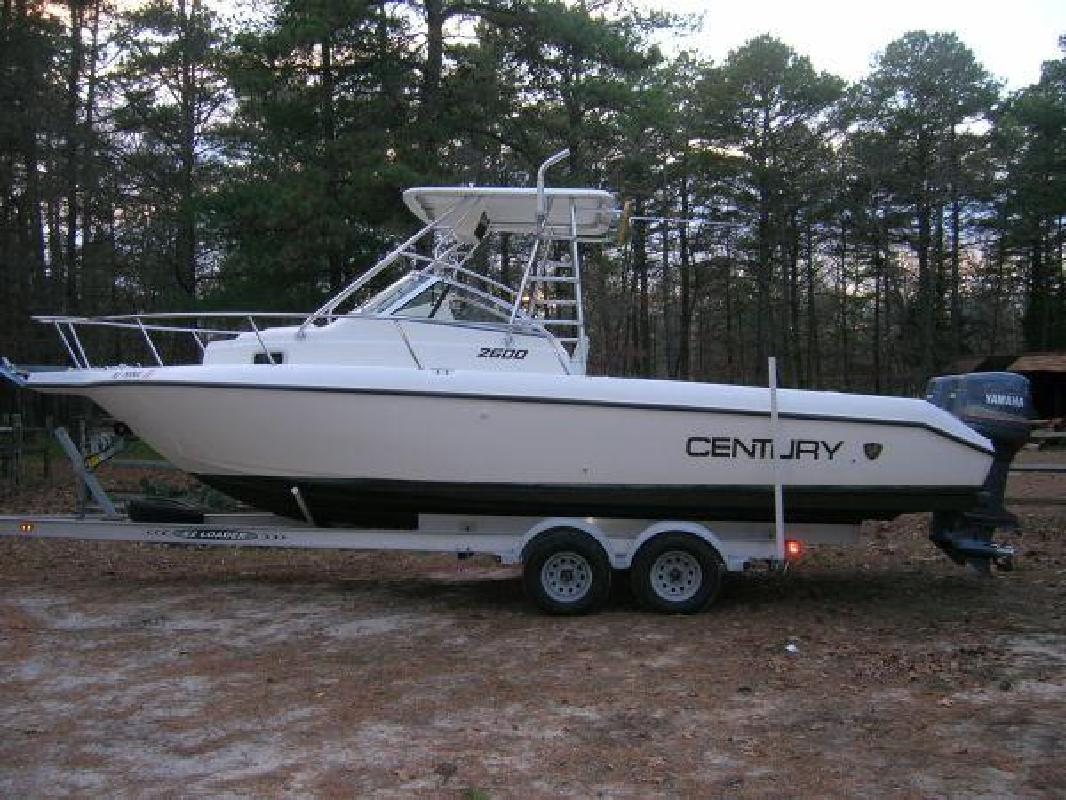 1998 26' Century Boats 2600 Walkaround