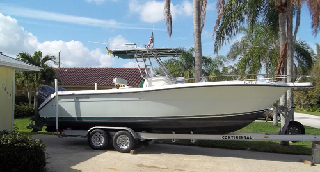 2002 26' Pursuit Boats 2670 CC