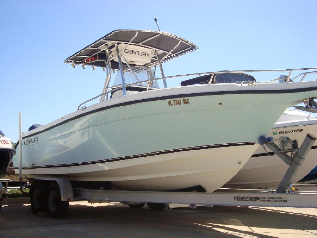2005 27 39 century boats 26 cc for sale in mary esther for Century motor date code