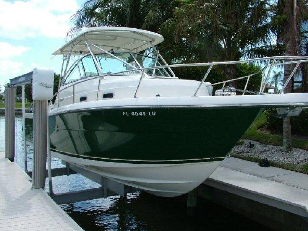2002 28' Pursuit Boats 2870 Walkaround