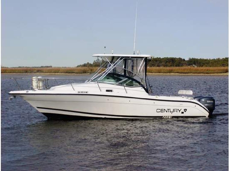2001 29' Century Boats 2900