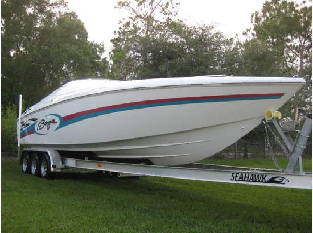 1989 29' Baja Performance Boats 290 Outlaw in Cape Canaveral, Florida