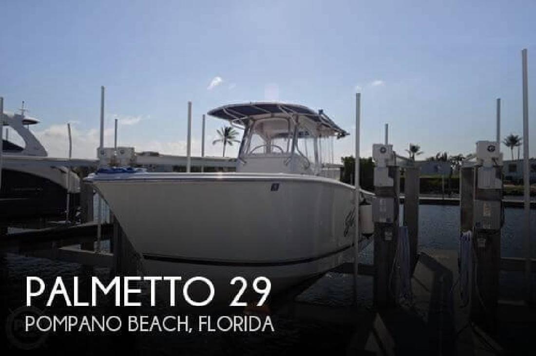 2002 Palmetto Custom by Sea-Pro Boats 29 Pompano Beach