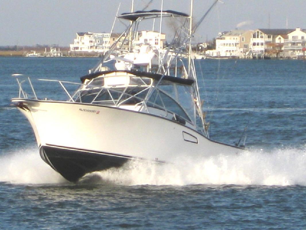 1997 30' Albemarle Boats 306 Express