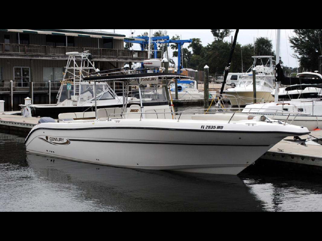 2003 32 39 century boats 3200 cc for sale in pensacola for Century motor date code