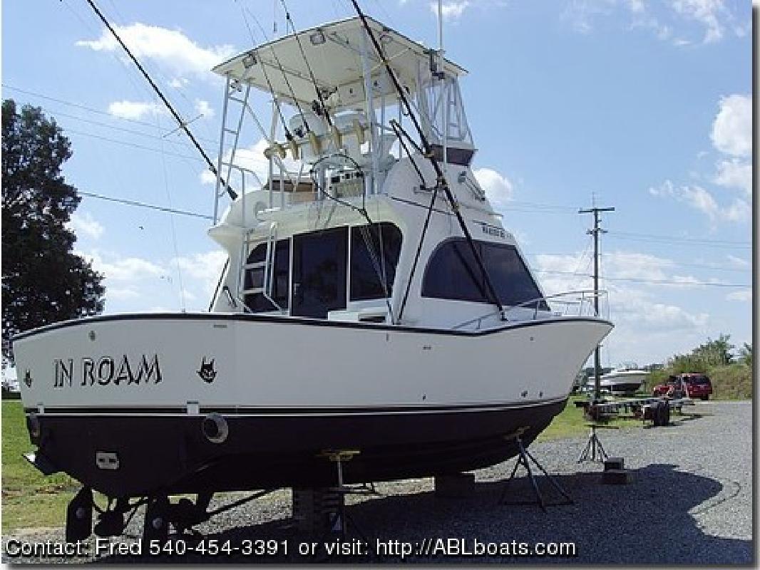 1996 32' Albemarle Boats 32 Express