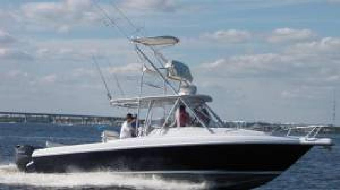 1996 33' Intrepid Power Boats 339 Walkaround