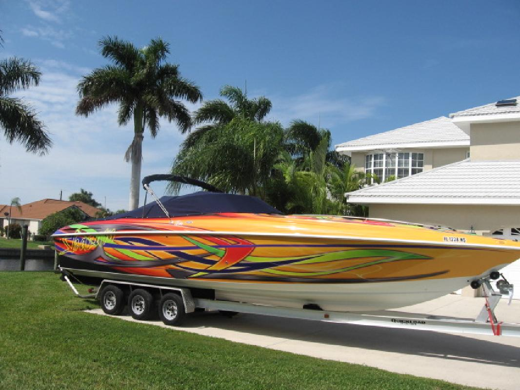2003 34' Baja Performance Boats 342 Boss in Punta Gorda, Florida