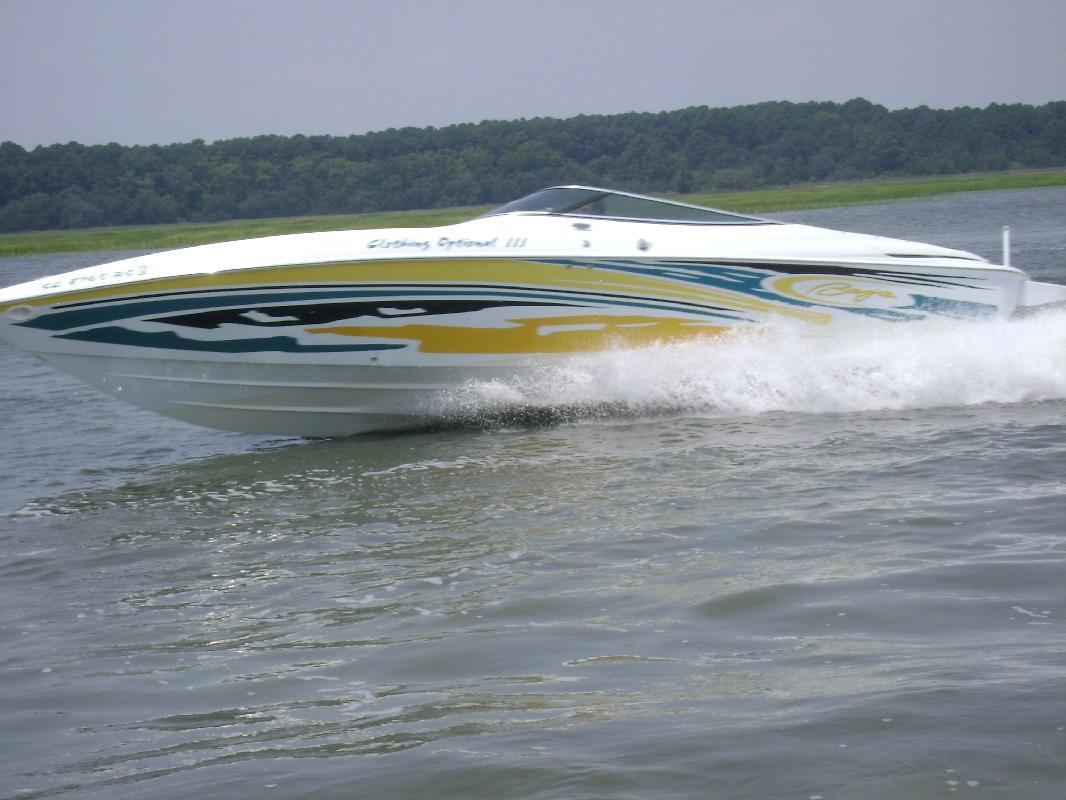 2004 30' Baja Performance Boats Baja Boss