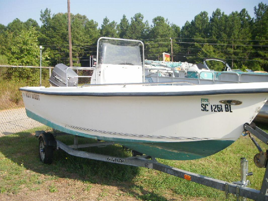 2001 17' Key West Boats, Inc. 1720cc