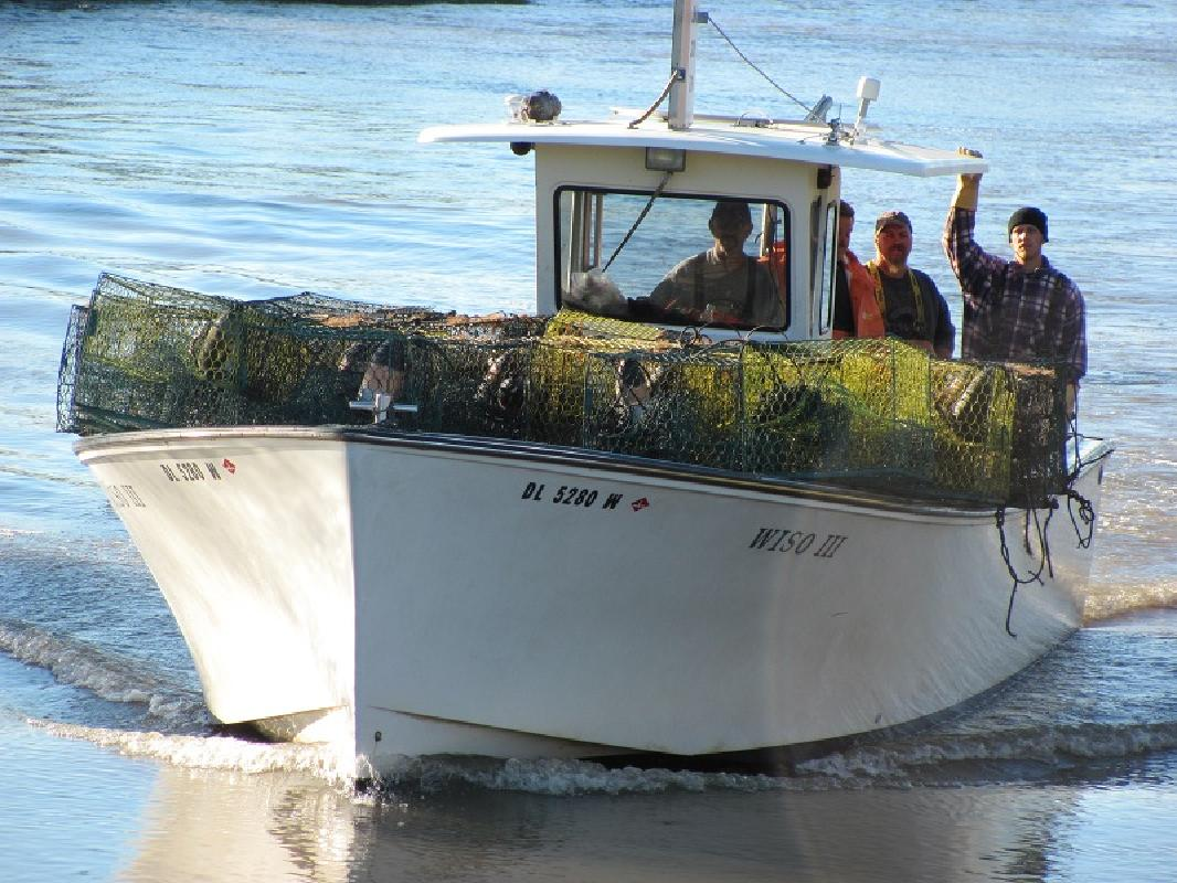 1995 35 39 henriques boats offshore 35 for sale in delaware for Crab fishing boats for sale