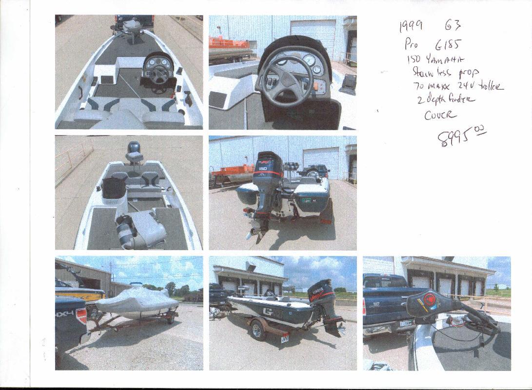 1999 18' G3 Boats Pro G185