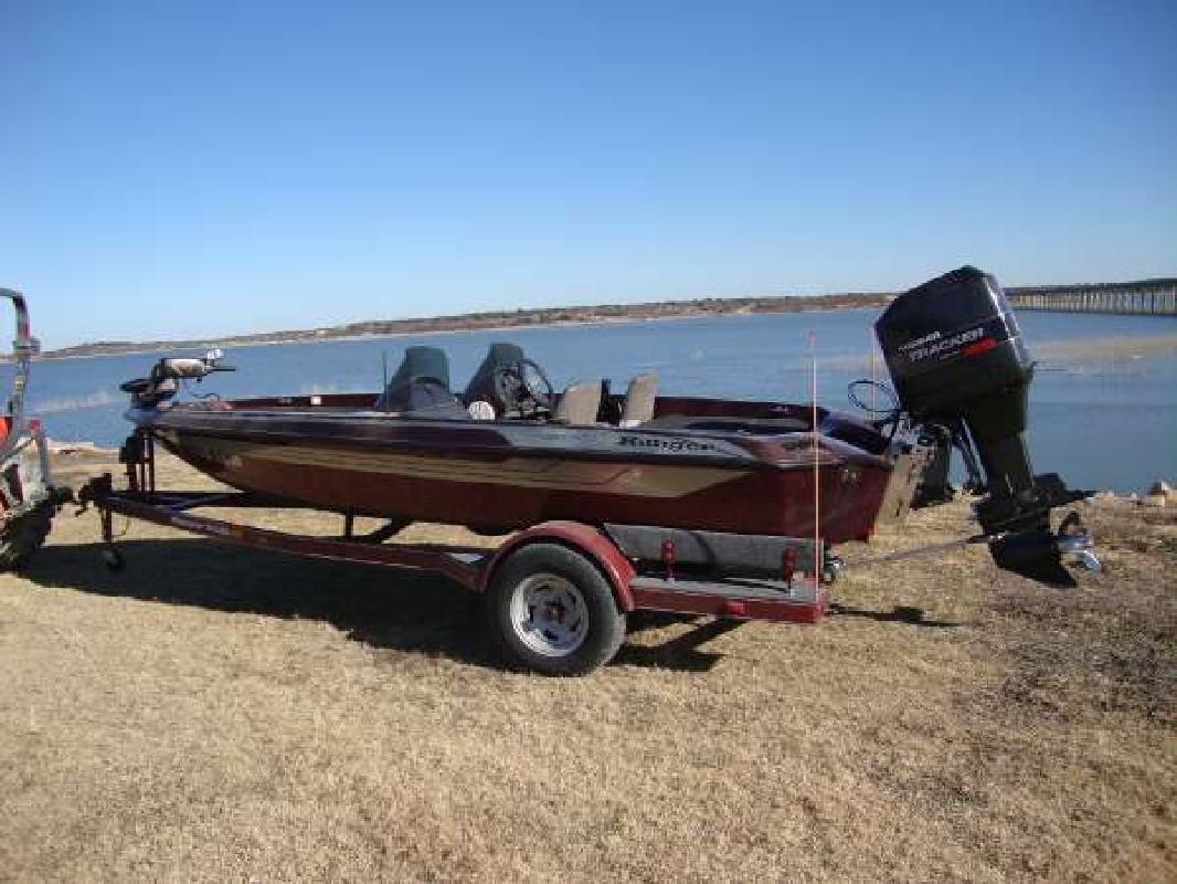 1994 17' Ranger Boats Sport R72