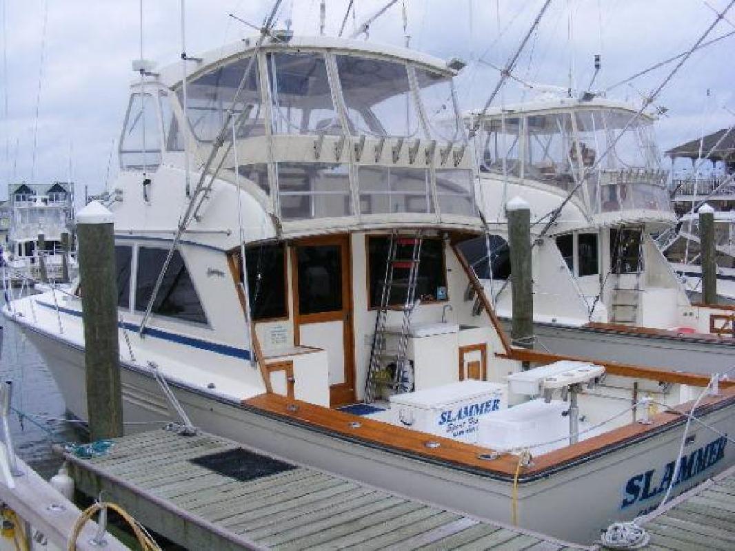 1989 44' Henriques Boats Sportfisherman