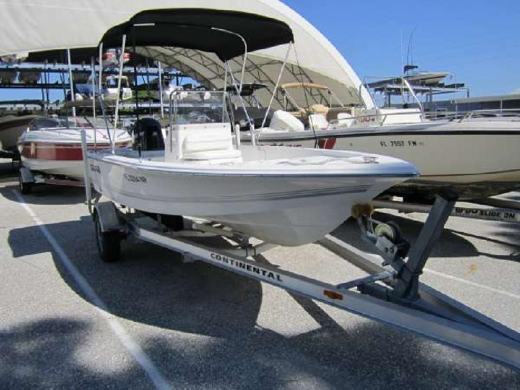 2007 17' Sea Pro Boats SV1700CC Bay Boat