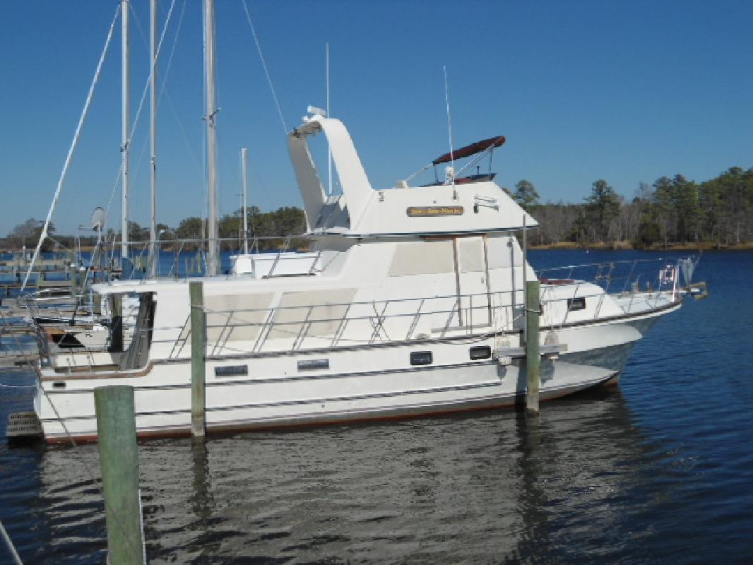 1984 46' Delta Boats Trawler