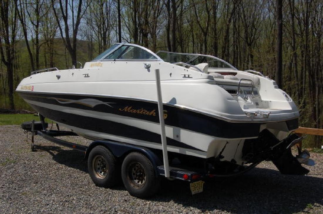 2000 21' Mariah Boats Z214D Deckboat