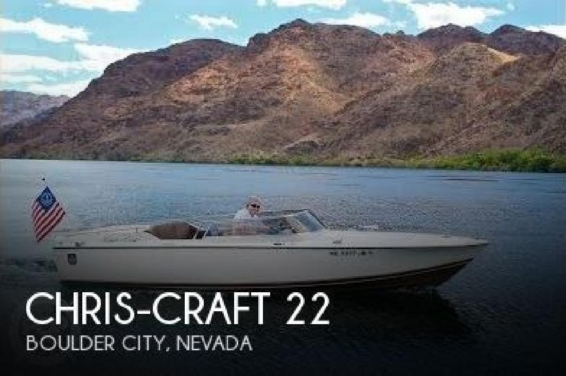 1972 Chris Craft XK-22 Boulder City NV