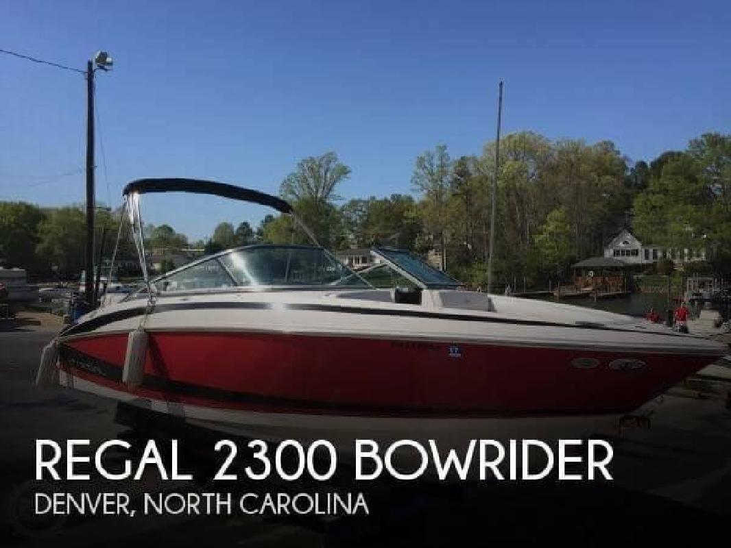 2011 Regal Boats 2300 Bowrider Denver NC