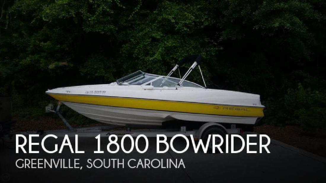 2005 Regal Boats 1800 Bowrider Greenville SC