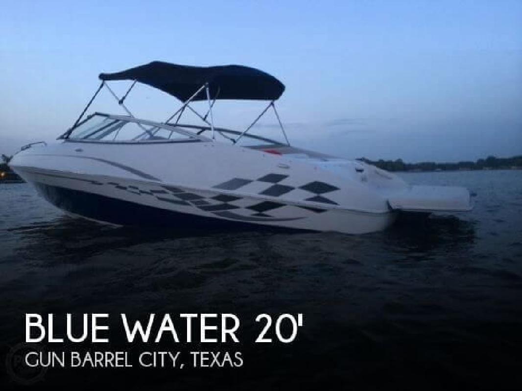 2007 Blue Water Boats 20 Image Bowrider Gun Barrel City TX