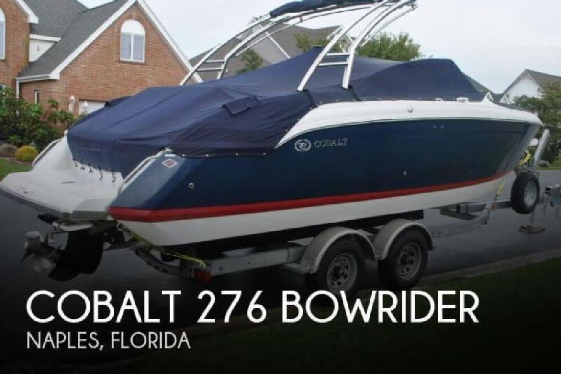 2009 Cobalt Boats 276 Bowrider Naples FL