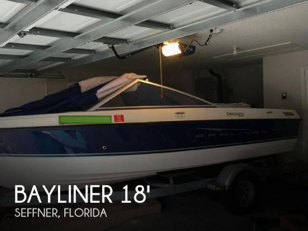 2008 Bayliner 195 Discovery Bowrider Seffner FL