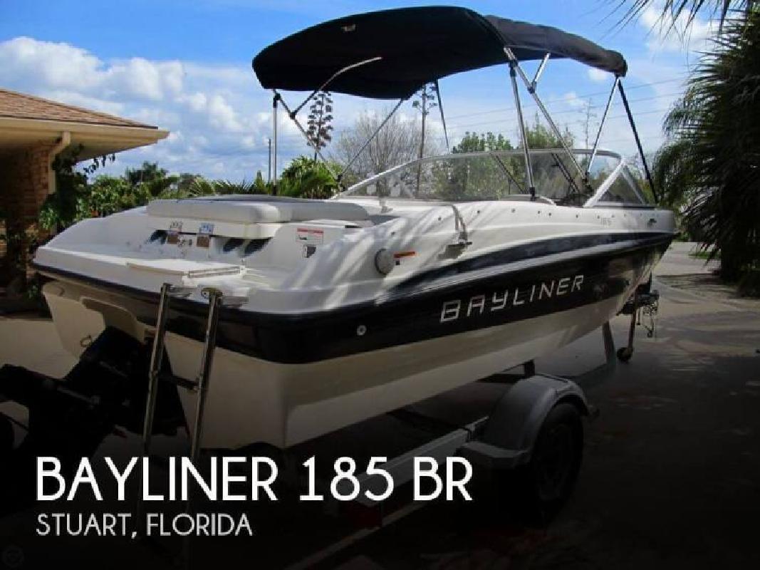 2011 Bayliner 185 BR Stuart FL